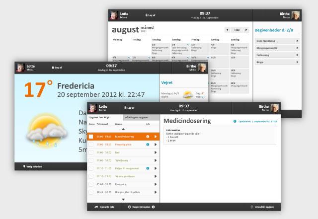 Et udvalg af applikationer