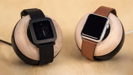 Enveo Chestnut Smartwatch dock